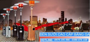 Cho thuê cây sưởi gas, quạt sưởi, máy sưởi công nghiệp tại Hà Nội